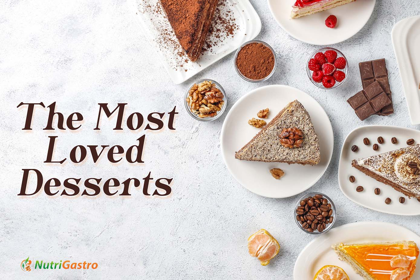The most loved desserts banner